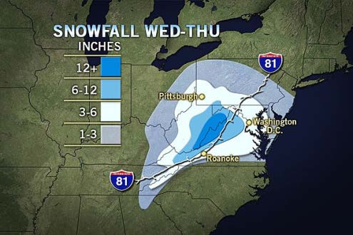 Snowfall Estimates